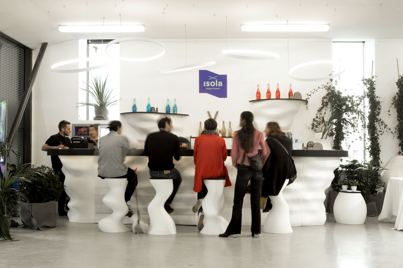 Caracol 3D Bar Milan Design Week 2019