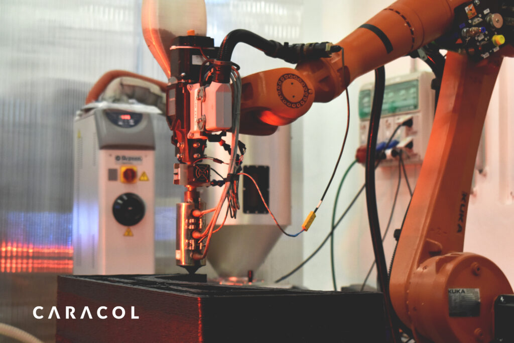 Caracol Robotic Arm Manufacturing Aerospace Tools
