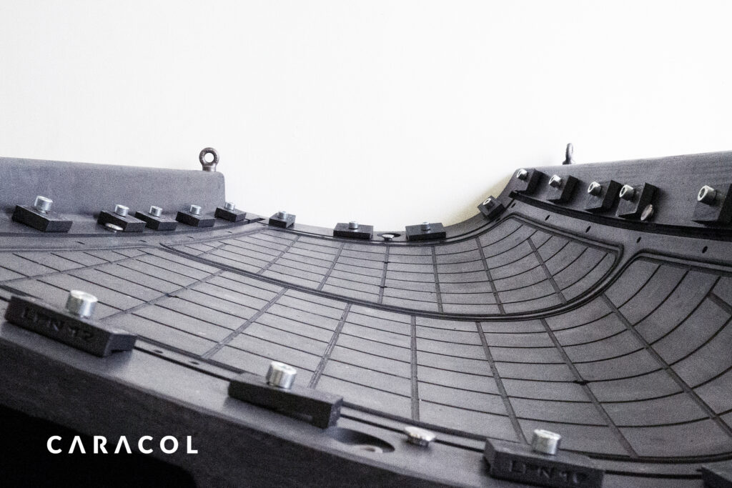 Large Scale 3D printed Aerospace Tool by Caracol